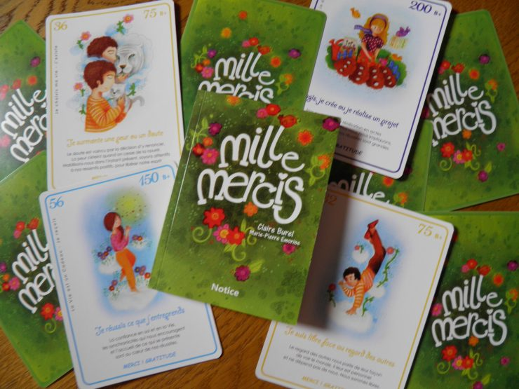 Chaque jour, une de ces cartes servira de support à votre propre reconnaissance de vos réussites. ©ClaireBurel.com