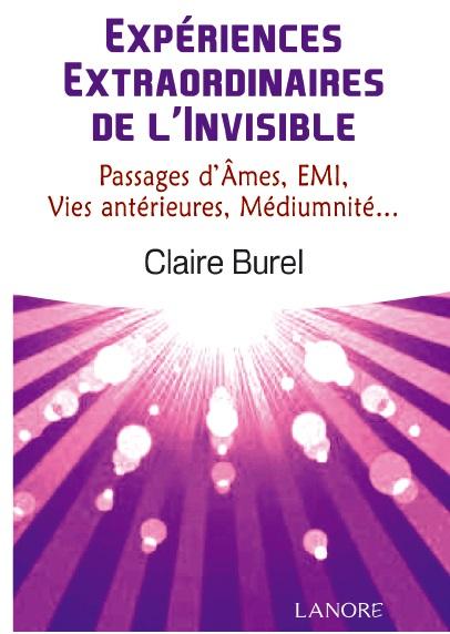 Expériences Extraordinaires de l'Invisible Couverture du livre